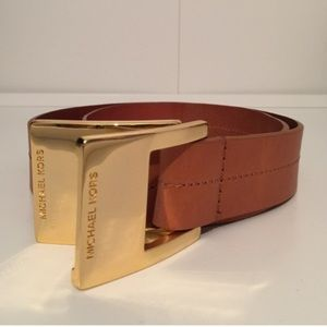 Michael Kors Double Buckle Belt