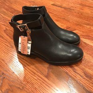 Zara side zip ankle boots
