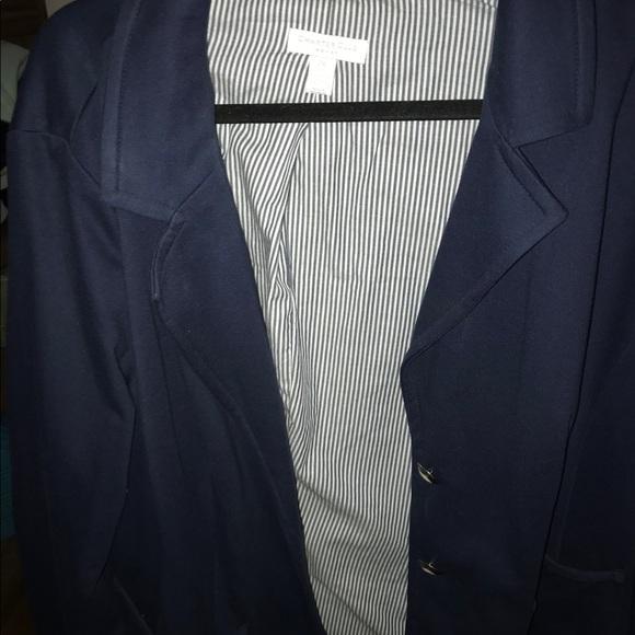 206231682ec Charter Club Jackets   Blazers - Women s Charter Club Navy Blue Blazer