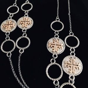 """Tory Burch Necklace 28""""-32"""""""