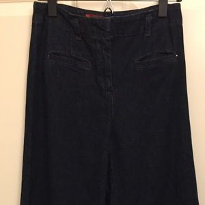 Anthropologie Cartonnier High Waist Wide Leg Jeans