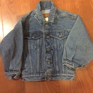 90s Gap Cropped Jean Jacket vintage fits XS-S
