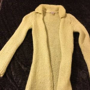 Free people fuzzy sweater mid length
