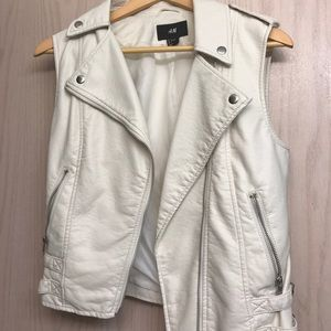 H&M Leather Vest