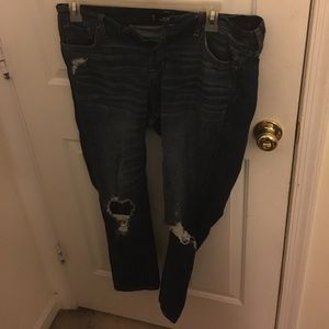 Size 13 hollister jeans