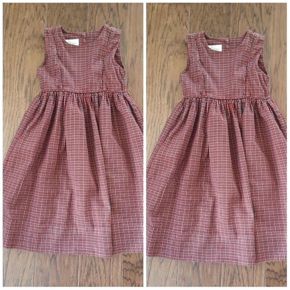 bd20b52b1f Strasburg Girl s Plaid Dress. M 59e3f797eaf0302d6609453e