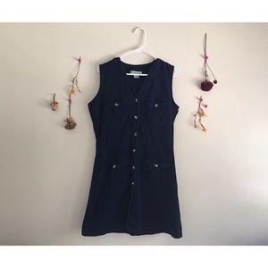 Vintage Button Up Merona Dress