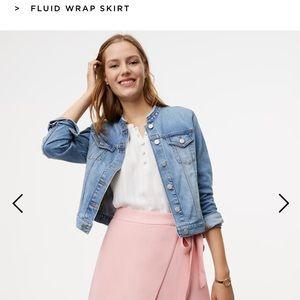 This seasons wrap around pink skirt