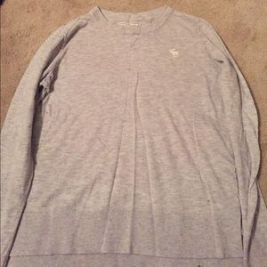 Grey Abercrombie and Fitch Sweater