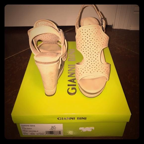 "1d1a12521d8 Gianni Bini Shoes - Gianni Bini ""Tulsah"" Wedges"