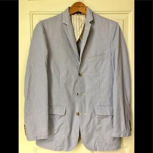 J. Crew Seersucker blazer