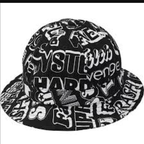 f801cc8b3ee Supreme HYSTERIC glamour text bell hat