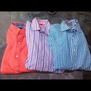 Thomas dean set of 3 button down shirts
