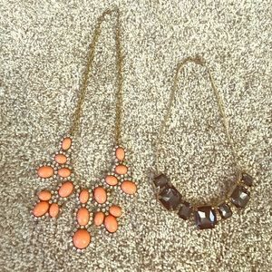 H&M Fashion Necklaces, Lot of 2