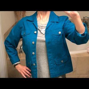 Chico's jean type jacket
