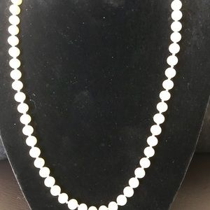 NEW * Pearl Necklace from Macy's  ~ NEW!