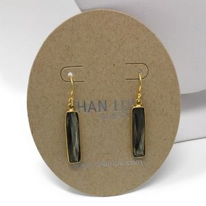 Chan Luu Pyrite Gold Earrings