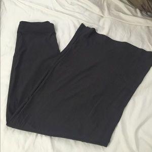 Express wide leg gray pants size 6