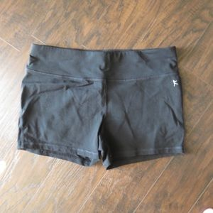 Danskin Black Athletic Shorts