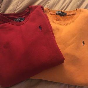 Ralph Lauren sweatshirts size M