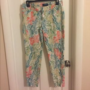 Old Navy Nautical Pixie Pants