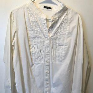 White cotton tunic