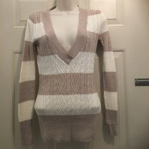 The Limited vneck sweater