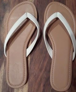 Charlotte Russe White Sandals