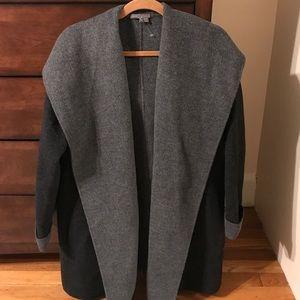 Vince black & gray wool jacket