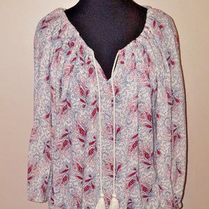 Ralph Lauren Denim and Supply Paisley Print Tunic