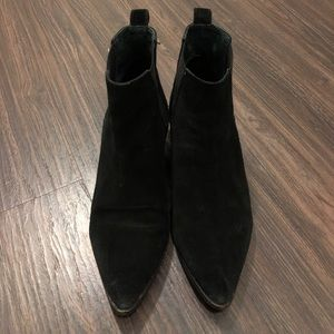 Seychelles Black Suede Chelsea Boots