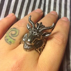 NWT Baphomet Ring