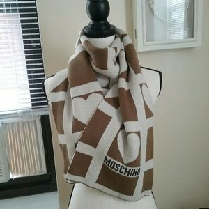 Moschino Scarf Wool Blend