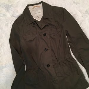 Banana Republic Military style jacket. NWT. Sz 0.