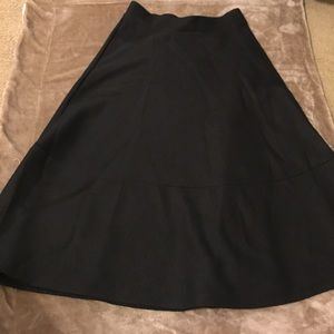 Quilted Texture Black H&M Skirt