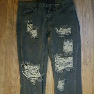 One teaspoon boyfriend jeans sz 25