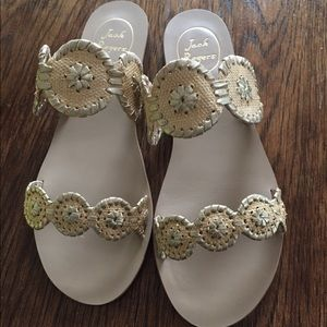 Jack Rogers Lauren Raffia shoes