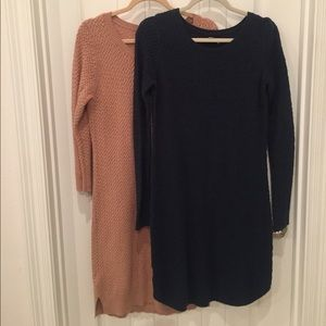 Sweater Dress x 2