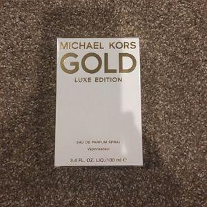 New authentic Michael Kris Gold 3.4