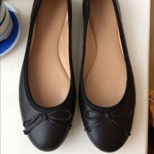 Banana Republic Leather Flats - Black