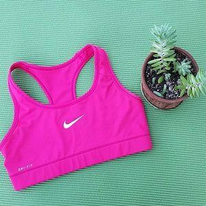 Nike dri-fit Pink Sports bra. Small