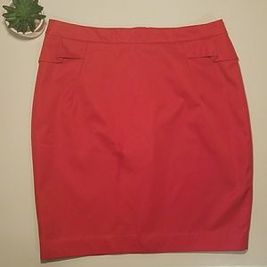 H&M skirt, beautiful red color size 10