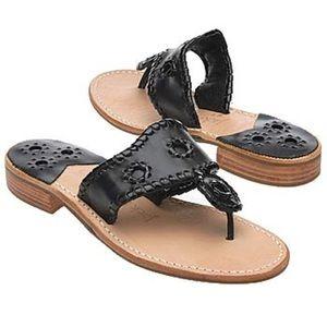 Jack Rogers Palm Beach Whipstitch Thong Sandal