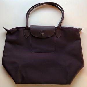 Longchamp Small Purple Shoulder Bag