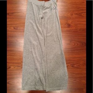 Light Grey Juicy velour pants