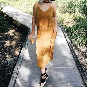 H&M Yellow Dress