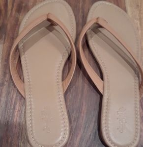Charlotte Russe tan sandals