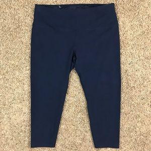 Style & Co. Sport Blue Athletic Capri Pant