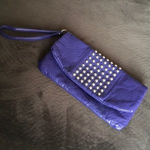 Mossimo Clutch with Wrist Strap