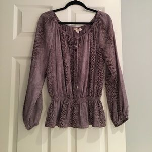 Michael Kors Off the Shoulder Top